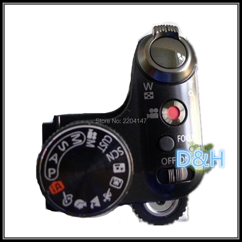 NEW Digital camera repair and replacement parts FZ40 DMC-FZ40 DMC-FZ45GK top cover mode dial Power switch group for Panasonic new original top cover assy with mode swich and buttons repair parts for sony ilce 6000 a6000 camera