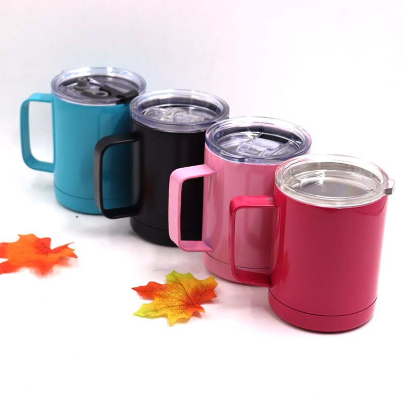 2018 Hot Sale 10oz Tumbler with Lid and Handle coffee mugs ...