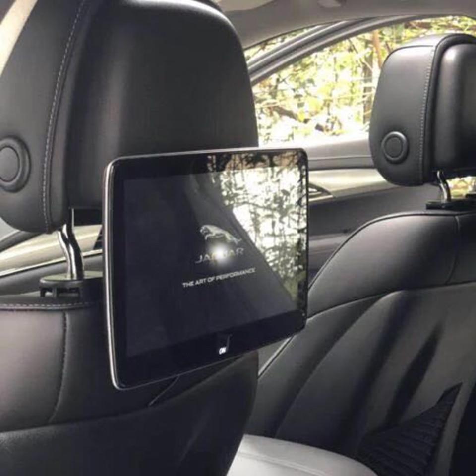 Moniteur d'appui-tête de voiture TV pour Jaguar F PACE F S Type X XF XJ XK Android 6.0 système de divertissement de siège arrière 11.8 pouces