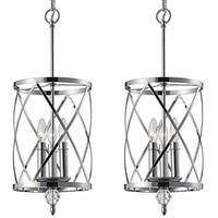 Modern light led iron crystal chandelier bedroom living room restaurant lighting decorative pendant lamps loft hanging hanglamps