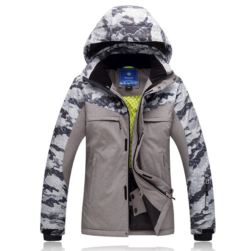 Jacket Super Warm -30degree Winter Ski Jacket Men Sportsman Wear Waterproof Windproof Snowboard Coat For Male Mountain Down
