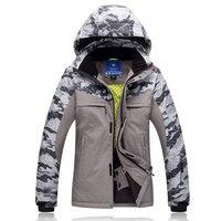 Jacket Super Warm 30degree Winter Ski Jacket Men Sportsman Wear Waterproof Windproof Snowboard Coat For Male Mountain Down