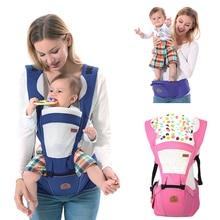 70dc7b71e32f Ergonómico portador de bebé 0-48 meses Bebe Honda del abrigo de la canguro  mochila frente llevar bolsa para 25KGS 3 -48 meses de