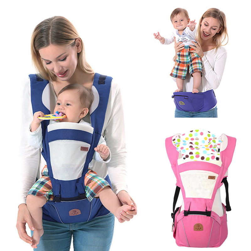 Ergonomic Baby Carrier Backpack 0-48 Months Bebe Sling Hipseat Kangaroo Backpack Front Carry Pouch Up To 25KGS 3-48 Months