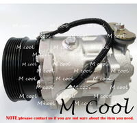 Новый PV6 авто ac компрессор для Peugeot 406 607 V6 6453AX 6453GP A/C Системы ремонт Запчасти