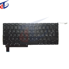 10pcs/lot New IT/Italian/Italy Keyboard Fits For Macbook Pro A1286 Italy Keyboard Layout 15.4 Replacement