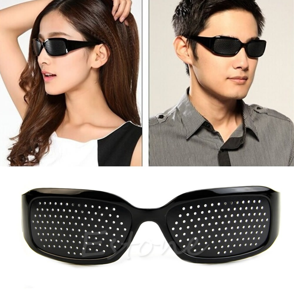 New Vision Care Eyesight Improver Glasses Anti-fatigue Stenopeic Glasses