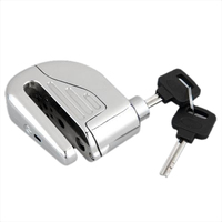 Disc Lock Padlock MOTORCYCLE THEFT WITH AUDIBLE ALARM