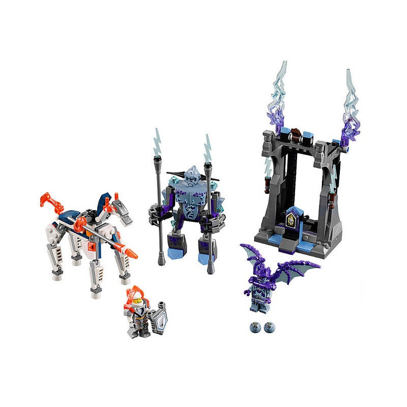 Bela 10594 Pogo Nexus Nexo Knights Lightning Model Building Blocks Bricks Toys Compatible lepi Toys Gifts for Children