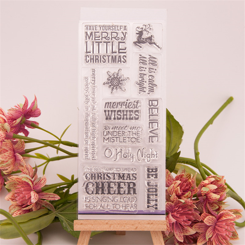 Greetings of Christmas for diy photo album clear stamp for christmas gift wedding gift stencil paper craft stamps for kids details about east of india rubber stamps christmas weddings gift tags special occasions craft