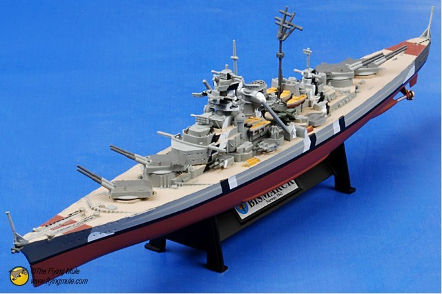! FOV  86201 1:1000 WWII German battleship part  Bismarck alloy Military Model