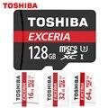 Toshiba Карты Памяти Карта Micro Sd 16 ГБ 32 ГБ 64 ГБ 128 ГБ класса 10 SDHC/SDXC 90 МБ/С. UHS-1 U3 Microsd TF карта 4 К Pen drive Flash