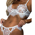 Lace Sexy Apparel Lingerie Set Ladies Bandage Bra And Underwear Set Lingerie Sexy Hot Erotic Women Intimate Women's Underwear