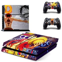 One Piece Video Games Skin For Ps4 Playstation 4 Controller Console Stickers Vinyl Decal Protective Film