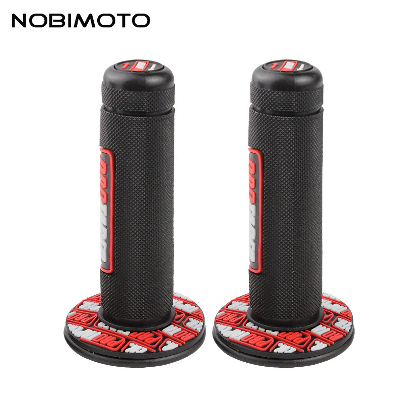 Handle Grip Protaper Motorcycle High Quality Protaper Dirt Pit Bike Motocross 7/8 Rubber Gel Hand Grips Brake Hands WG-117