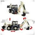 1:50 Aleación Diecast modelo de coche de juguete de metal material aleación de vehículos grandes excavadoras Terex TX760B máquina excavadora modelos diecast C1055