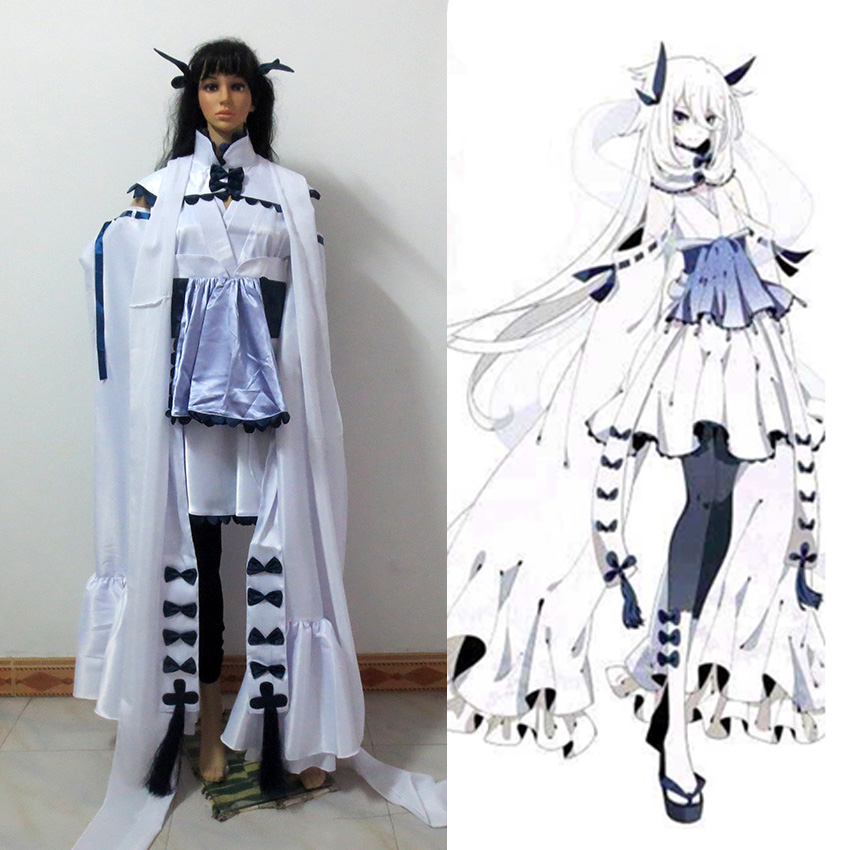 Pocket Monster Hot Lugia Cosplay Costume Full Set Custom Made Free Shipping