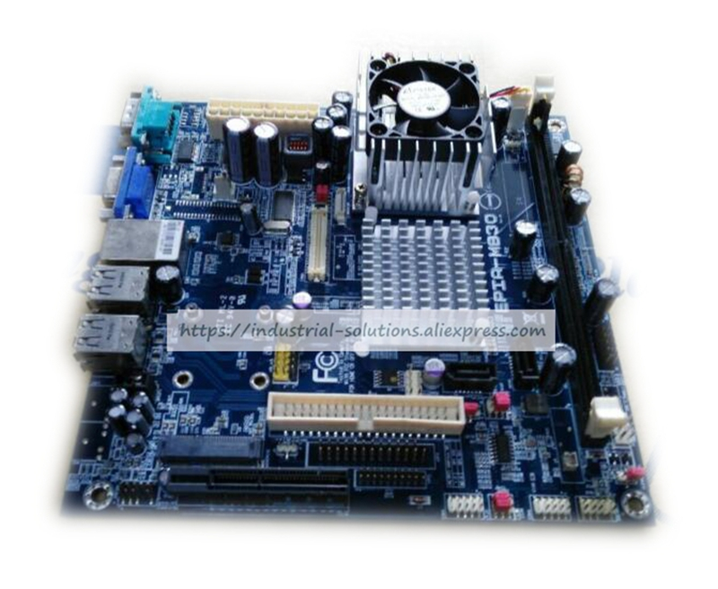 все цены на  Mini-itx Motherboard  Embedded Industrial Motherboard EPIA-M830 Ultra Thin Dual Channel Lvds 100% tested perfect quality  онлайн