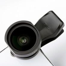 Objectif de téléphone grand Angle SIRUI 18mm objectif clipsable HD 4K boîtier en aluminium objectif de caméra pour iPhone XS X Samsung S9 S8 Huawei Mobile