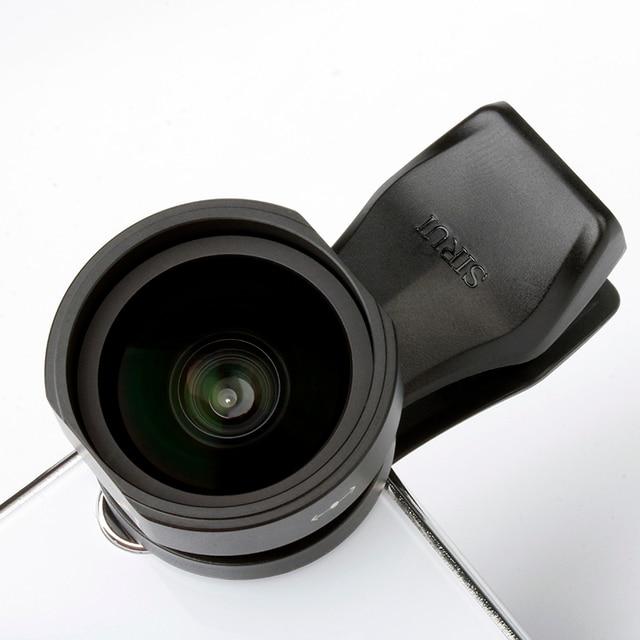 SIRUI 18mm רחב זווית עדשת טלפון קליפ על עדשת HD 4K אלומיניום דיור מצלמה עדשה עבור iPhone XS X סמסונג S9 S8 Huawei נייד