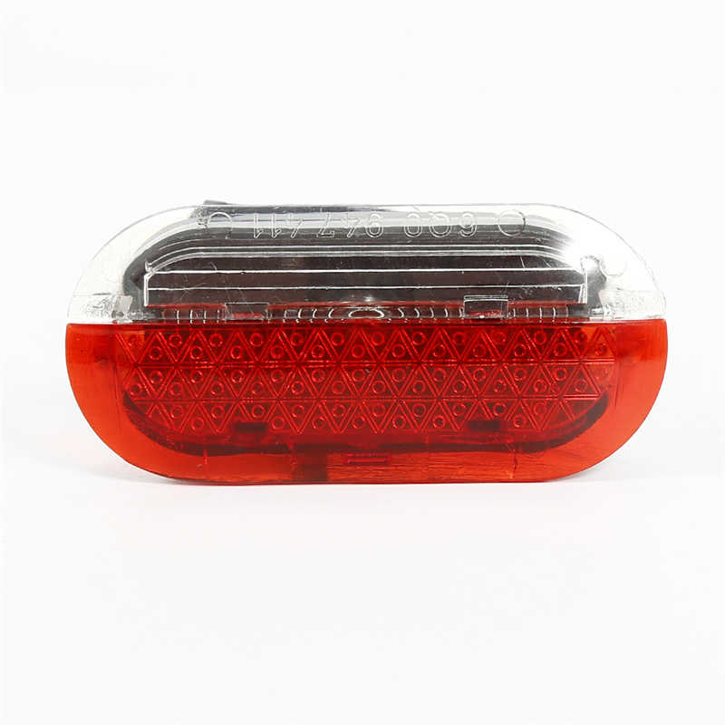 1pc Car Door Light Warning Red White For 1998 2005 Vw Beetle Golf Jetta