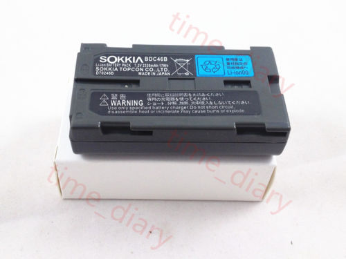 NEW SOKKIA BDC46/BDC46B/BDC46A Equivalent Battery FOR SOKKIA TOTAL STATIONS dual charger for bdc46 bdc46a bdc46b bdc58 sokkia type battery total station