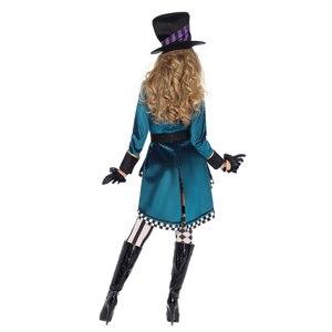 Image 2 - Halloween Alice in Wonderland Costumes Women Magician Cosplay Girls Princess Quess Magic Cosplay Female Coat