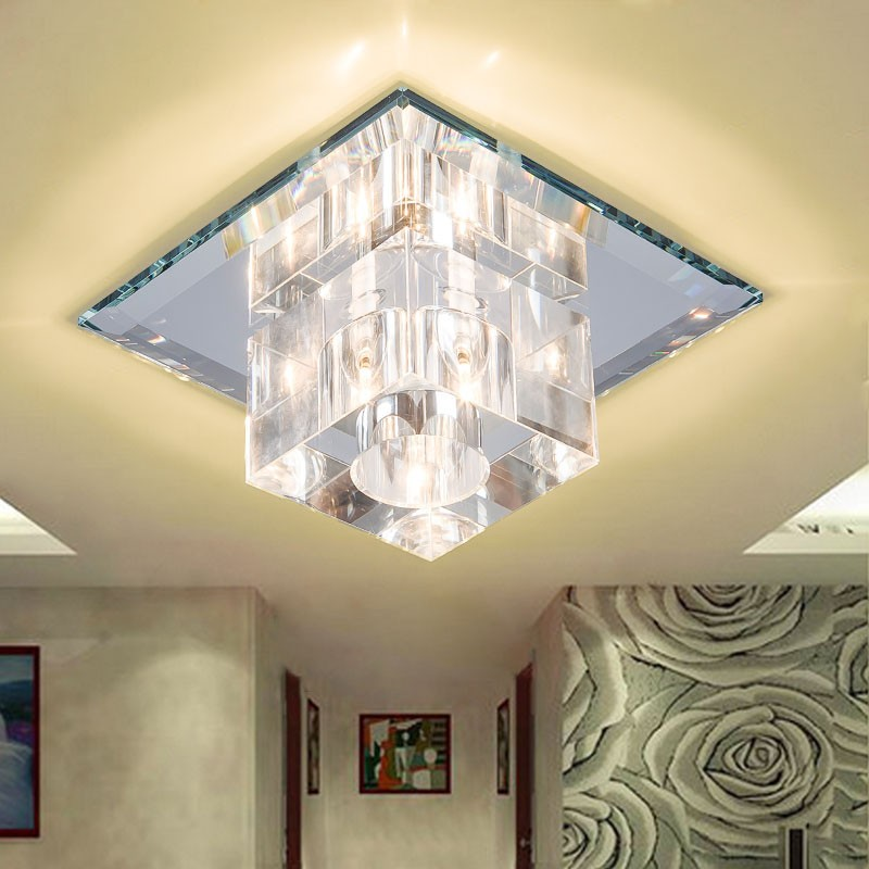 k9 crystal ceiling light
