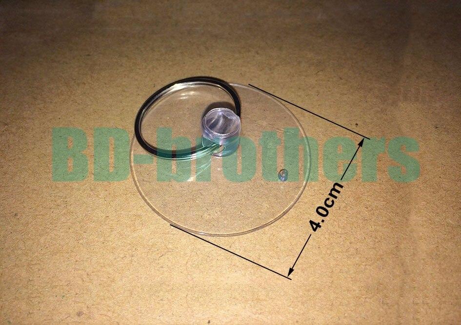 4.0 см присоске + брелок прозрачный softgums присоски haptor купулы Чашки открытие вакуумный Зажимы для телефона 2000 компл./лот