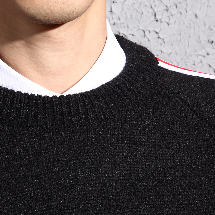 Winter Christmas Sweater Men Pullover Fashion Brand Mens Jumper Plus Size Mens Sweaters 2019 Thick Striped Pull Men in Pullovers from Men 39 s Clothing