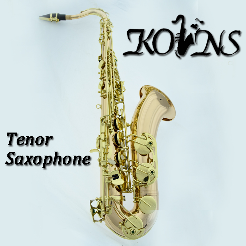 Tenor Bb Sax Wind Instrument Saxophone Western Instruments saxofone Gold Lacquer Saxe Professional Musical Instruments black salmer 54 tenor sax b flat saxophone top musical instrument saxe wear resistant black nickel gold professional sax