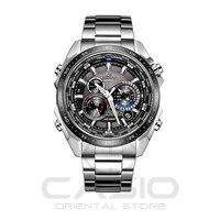 Casio Часы солнечной энергии Водонепроницаемый Сталь группа наручные часы Relógio Masculino мужские часы лучший бренд класса люкс часы EQS 500DB