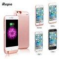 IRepie 10000 мАч Беспроводной Вернуться Клип Дело Зарядное устройство Power Bank Телефон Владельца для apple iPhone 5S 6 6 s 7 6 плюс i6s 7 плюс 5 Г