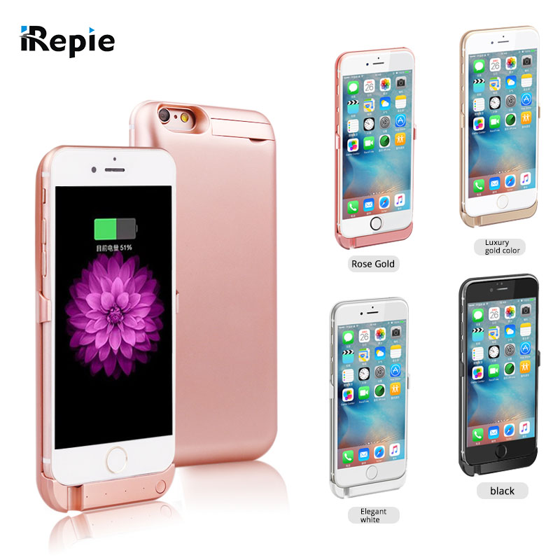 iRepie 10000mAh Wireless Back Clip Battery Charger Power Bank Case Phone Holder For apple iPhone 5S