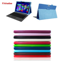For Microsoft Windows Surface Pro 4 PU Leather Tablet Case 12 3 Flexible Flip Stand Cover