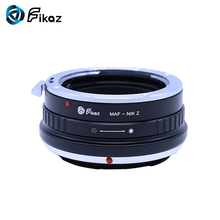 Fikaz For Minolta(AF)-Nikon Z Lens Mount Adapter Ring for Minolta AF MAF Lens to Nikon Z Mount For Nikon Z6 Z7 Camera все цены