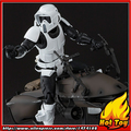 "100% Original BANDAI Tamashii Nations S.H.Figuarts (SHF) Exclusive Action Figure - Scout Trooper & Speeder Bike from ""Star Wars"""