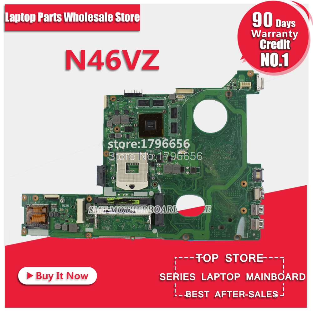 Original for ASUS N46VZ N46V N46VJ N46VM N46VV N46VB GT650M 2GB motherboard DDR3 Non-integrated fully test ok before shipping цена