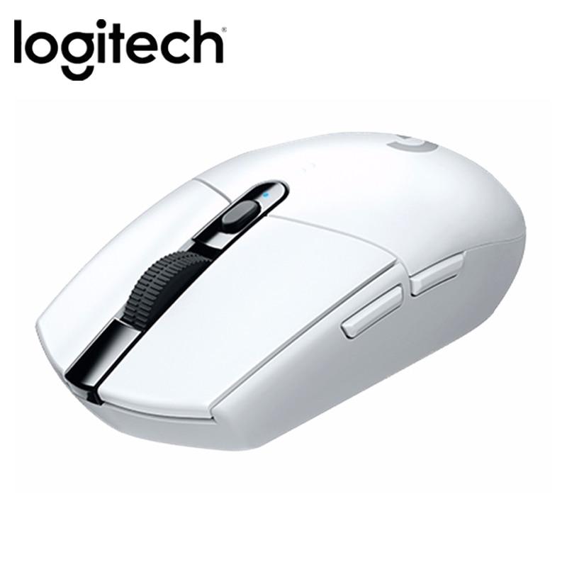Original Logitech G304 Gaming Mouse 2.4G Wireless  HERO Engine  5AA Battery 12000DPI For LOL PUBG Fortnite Overwatch CSGO