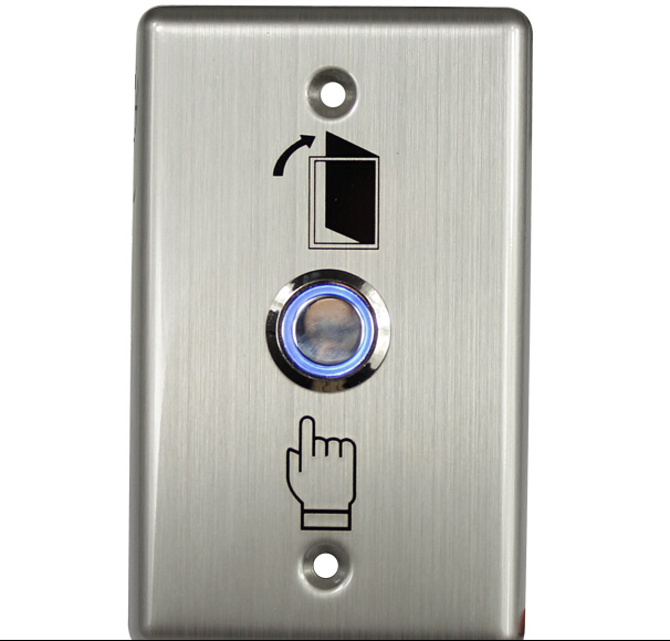 500000 times duty circle 115*70mm stainless steel LED light press button/manual push button for door access control NO NC COM какое авто можно до 500000