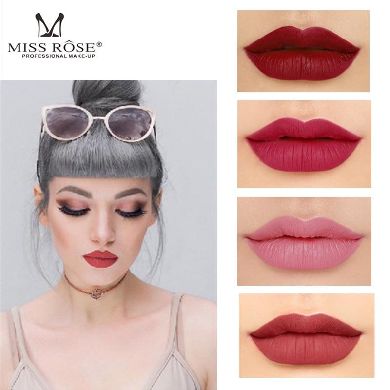 MISS ROSE Charmed Batom Mate Lápiz Labial Pigmento Natural - Maquillaje