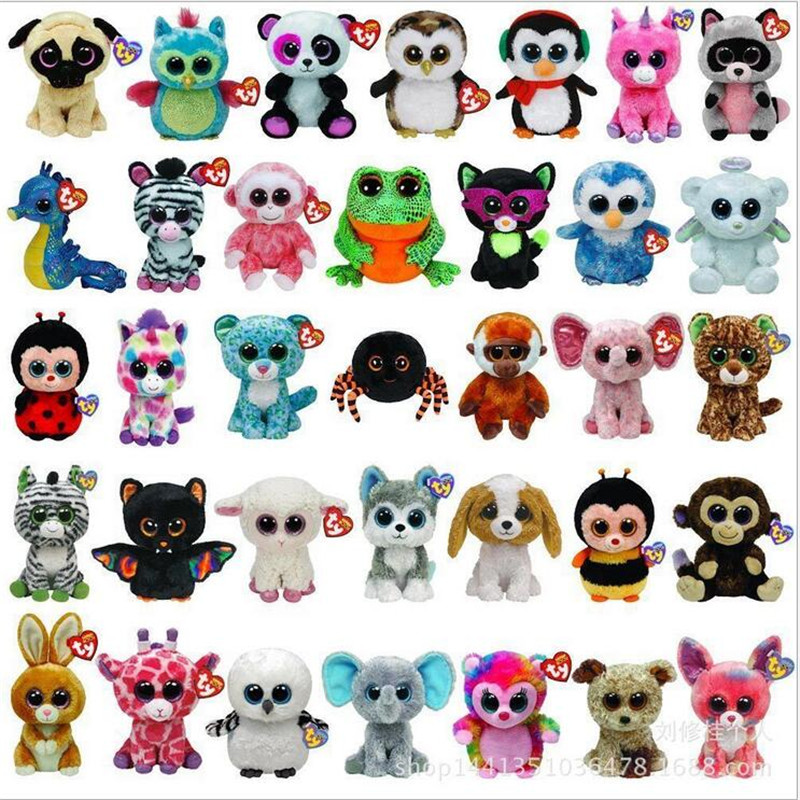 938d72d42f5 TY Beanie Boos Big Eyes Small Unicorn Plush Toy Doll Kawaii Stuffed Animals  Collection Lovely A Wide Variety Of Styles L06