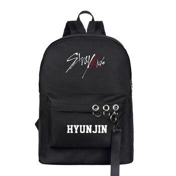 75c122331d895 Nueva kpop niños perdidos mismo párrafo mochila versión coreana bolso de  gran capacidad de la Nueva Escuela de kanken mochila