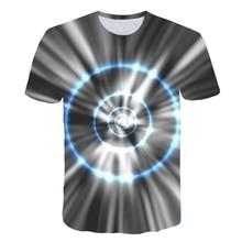 Harajuku Space Geometry tshirt Men Women 3D t-shirt Tee Casual Top Anime Camiseta Streatwear Short Sleeve Tshirt Asian size 5XL