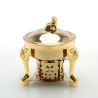 Chinese old Beijing small hot pot one person self help small pot stainless steel alcohol stove chafing dish nimi stew soup pan