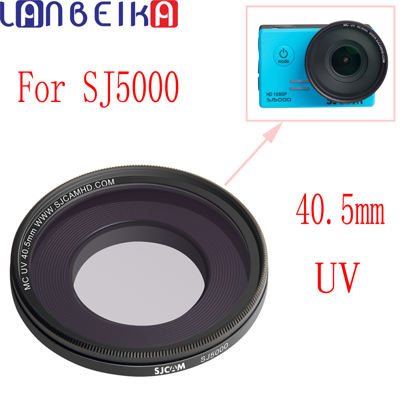 LANBEIKA For SJCAM Accessories SJ5000 Series UV Filter 40.5mm Multi-Coated Protector Lens For SJ5000/SJ5000WIFI/SJ5000X Elite