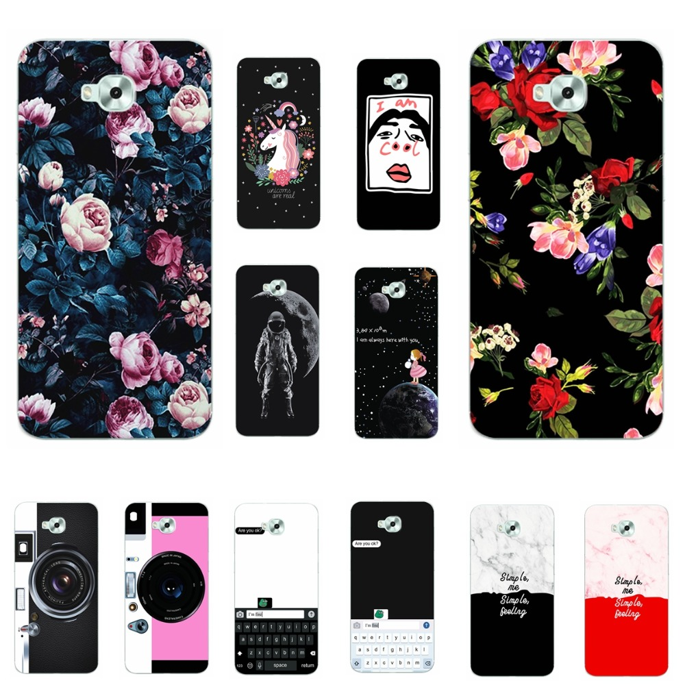 Lovers Chic Vintage flowers <font><b>Phone</b></font> <font><b>Case</b></font> For <font><b>Asus</b></font> Zenfone4 <font><b>Selfie</b></font> ZD553KL ZB553KL Cover Soft TPU For <font><b>Asus</b></font> <font><b>Zenfone</b></font> <font><b>4</b></font> <font><b>Selfie</b></font> ZD553KL image