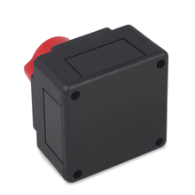 Universal 12V 24V Car Battery Isolator Master Cut Off Power Switch Waterproof Marine Car Boat Battery Disconnect Terminal Auto