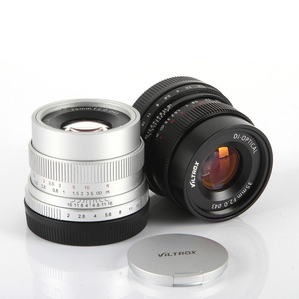 35mm F2 Large-Angle Grande Ouverture Fixe Premier Camera Lens pour Sony NEX E Plein Cadre A7 A7SII A7RII A7R A6300 A6000 NEX-7