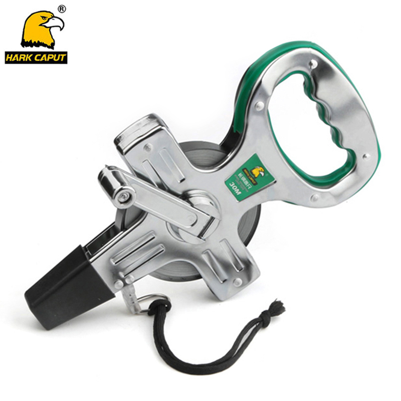 Tape Measure 30M/50M Stainless Steel Ruler Retractable Measuring Tape Metric Construction Measuring Tools стоимость